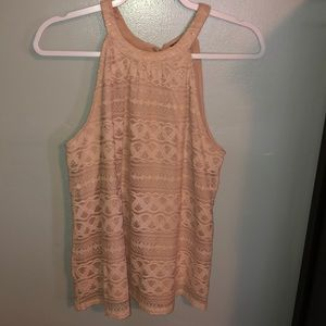 Tops - Blush Lace Top
